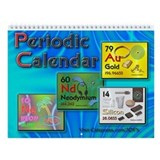 Periodic Atomic Wall Calendar