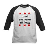 Lorelei Loves Mommy and Daddy Tee