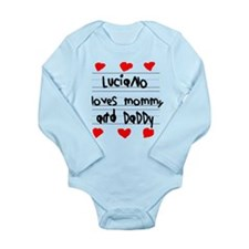 Luciano Loves Mommy and Daddy Long Sleeve Infant B
