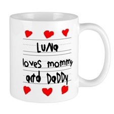 Luna Loves Mommy and Daddy Mug