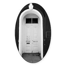 Tombstone City Hall Doorway Decal