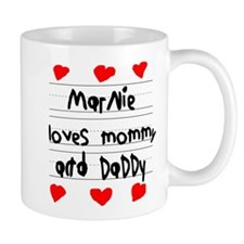 Marnie Loves Mommy and Daddy Mug