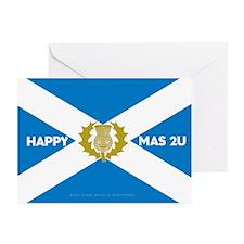 Happy Xmas 2U Greeting Cards (Pk of 10)