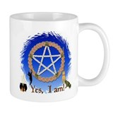 """Yes, I Am A Witch"" Small Mug"