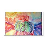 Cactus! Southwest art! Rectangle Car Magnet
