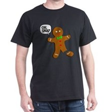 Oh, Snap! Funny Gingerbread Christmas Gift T-Shirt