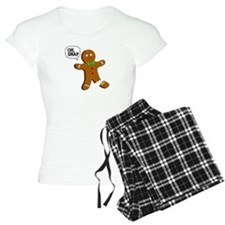 Oh, Snap! Funny Gingerbread Christmas Gift Pajamas