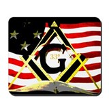 Masonic 33 Mousepad