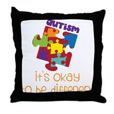It's Okay Throw Pillow