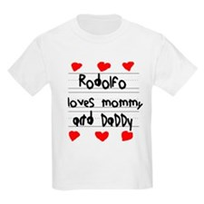 Rodolfo Loves Mommy and Daddy T-Shirt