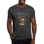 Books and music Dark T-Shirt