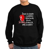 Rosa Luxemburg with Quote Sweatshirt