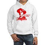 Emma Goldman With Quote Hoodie