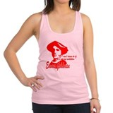 Emma Goldman With Quote Racerback Tank Top