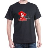 Red Emma With Quote T-Shirt