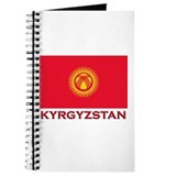 Kyrgyzstan Flag Merchandise Journal