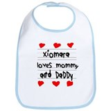 Xiomara Loves Mommy and Daddy Bib
