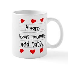 Alvaro Loves Mommy and Daddy Mug