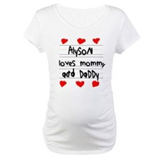 Alyson Loves Mommy and Daddy Shirt
