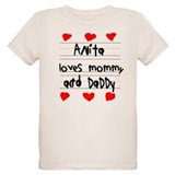 Anita Loves Mommy and Daddy T-Shirt
