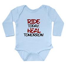 'Heal Tomorrow' Long Sleeve Infant Bodysuit