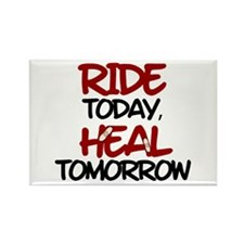 'Heal Tomorrow' Rectangle Magnet (10 pack)