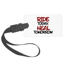 'Heal Tomorrow' Luggage Tag