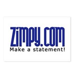 Zimpy Gear Postcards (Package of 8)