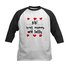 Bibi Loves Mommy and Daddy Tee