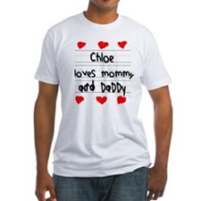 Chloe Loves Mommy and Daddy Shirt