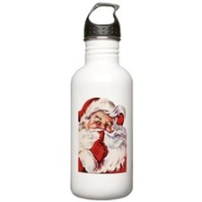 Vintage Santa Water Bottle
