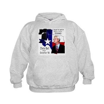 Chris Bell, TX GOV Kids Hoodie