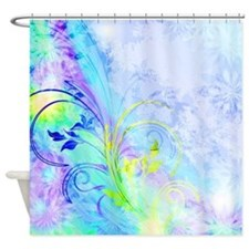 Purple and blue Shower Curtain