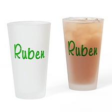 Ruben Glitter Gel Drinking Glass