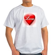 I Love Your Wife Ash Grey T-Shirt