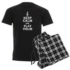 Keep Calm Violin Pajamas