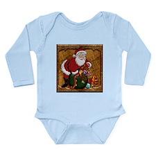 Harvest Moons Santa's Bag Long Sleeve Bodysuit