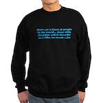 ADHD ADD Funny Quote Sweatshirt (dark)