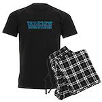 ADHD ADD Funny Quote Men's Dark Pajamas