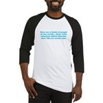 ADHD ADD Funny Quote Baseball Jersey