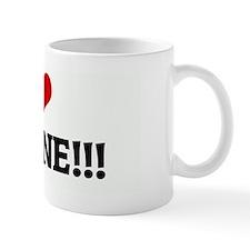 I Love JERMAINE!!!   Mug