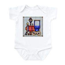 Harvest Moons Train Infant Bodysuit