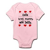 Kaila Loves Mommy and Daddy Onesie
