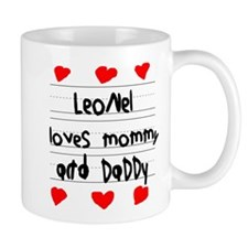 Leonel Loves Mommy and Daddy Mug