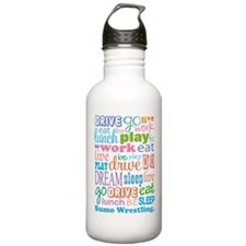 Sumo Wrestling Water Bottle