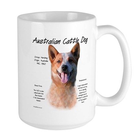 ACD (red speckle) Large Mug