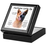 ACD (red speckle) Keepsake Box