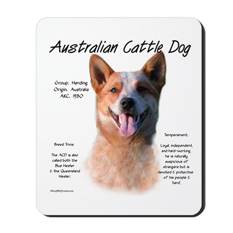 ACD (red speckle) Mousepad