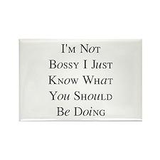 I'm Not Bossy Rectangle Magnet