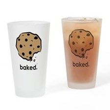 Baked. Drinking Glass